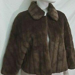 East 5th Faux Fur Stole